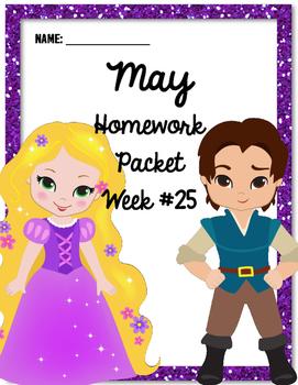 Homework Packet 25