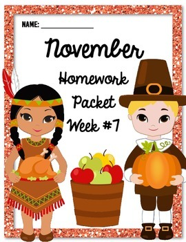 Homework Packet 7