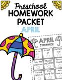 Homework Packet- April