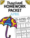 Homework Packet- April