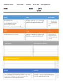 Homework Packet Cover Sheet-top seller