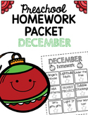 Homework Packet- December