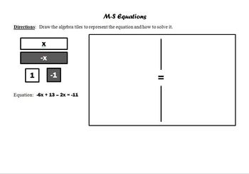 Homework Package - Multi-step Linear Equations