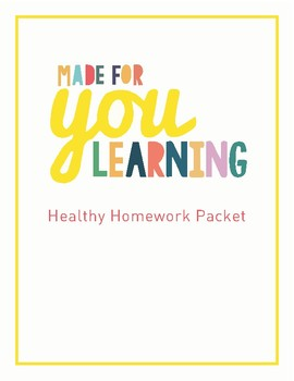 Homework Packet Help For Parents