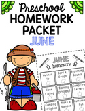 Homework Packet- June