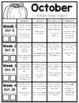 Homework Packet: Kindergarten   October