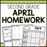 SECOND GRADE HOMEWORK | APRIL