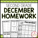 SECOND GRADE HOMEWORK | DECEMBER