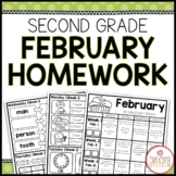 SECOND GRADE HOMEWORK | FEBRUARY