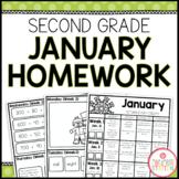 SECOND GRADE HOMEWORK | JANUARY