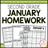 SECOND GRADE HOMEWORK | JANUARY