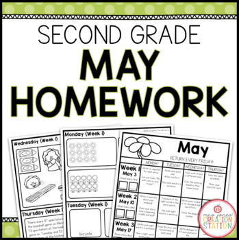 SECOND GRADE HOMEWORK | MAY