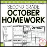 SECOND GRADE HOMEWORK | OCTOBER
