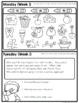 Homework Packet: Second Grade   September