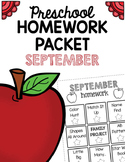 Homework Packet- September