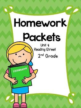 Homework Packet, Unit 4, Second Grade, Reading Street