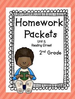 Homework Packet, Unit 5, 2nd Grade