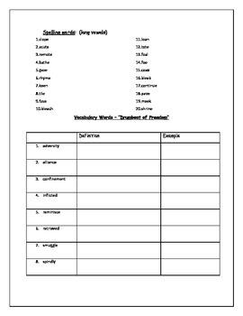 Homework Packet template