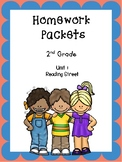 Homework Packets, Unit 1, Reading Street, 2nd Grade