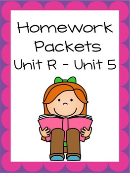 Homework Packets, Unit R - Unit 5, Reading Street, 2013