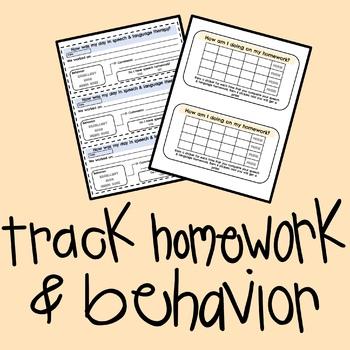 Homework & Parent Forms
