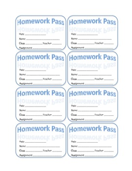 Homework Pass 2