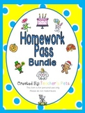 Homework Pass Bundle