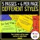 Homework Pass, Exit Ticket Pass, Extra Credit + More!