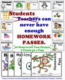 ************Homework Pass