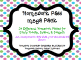 Homework Pass Megapack with Homework Superstar Certificates