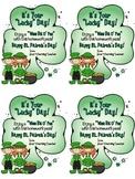 Homework Pass: St. Patrick's Day (freebie)