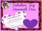 Homework Pass- Valentine's Day (poem)