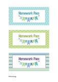 Homework Pass Voucher