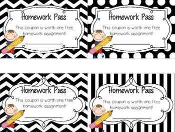 Homework Passes