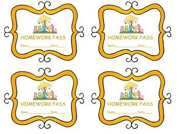 Homework Passes for Spring