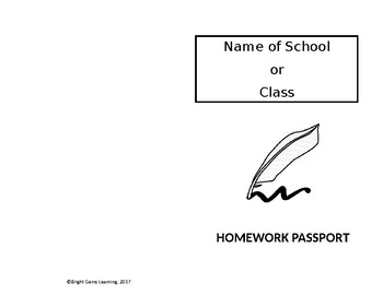 Homework Passport