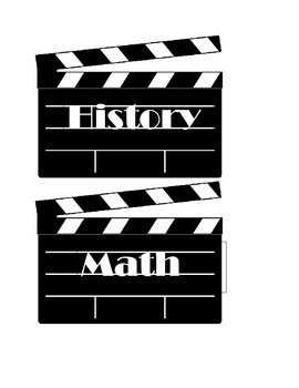 Homework Pennants (Movie Theme)