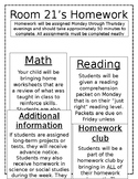 Homework Policy Editable