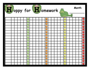 photo about Printable Homework Chart titled Research Poster Advantage Chart