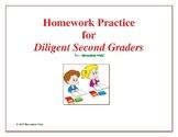 Homework Practice for Diligent Second Graders
