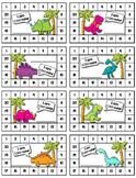 Homework Punch Cards/Behavior Cards