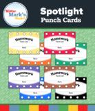 Spotlight Punch Cards (Homework)