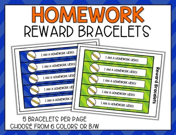Homework Punch Cards