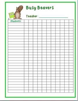 Homework Incentives - Punch Cards!