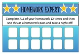 Homework Punch Pass