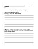 "Homework Questions for ""Harrison Bergeron"""