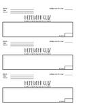 Homework Quiz Tempelate