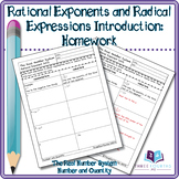 Homework: Rational Exponents and Radical Expressions Introduction