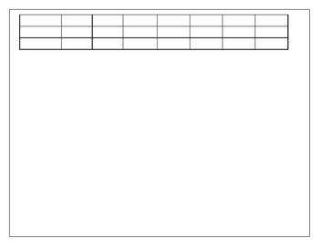 Homework Recording Sheet