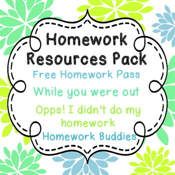Homework Resource Pack